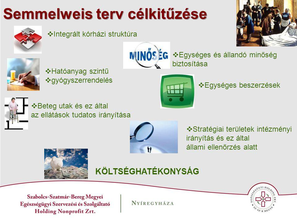 Semmelweis terv célkitűzése