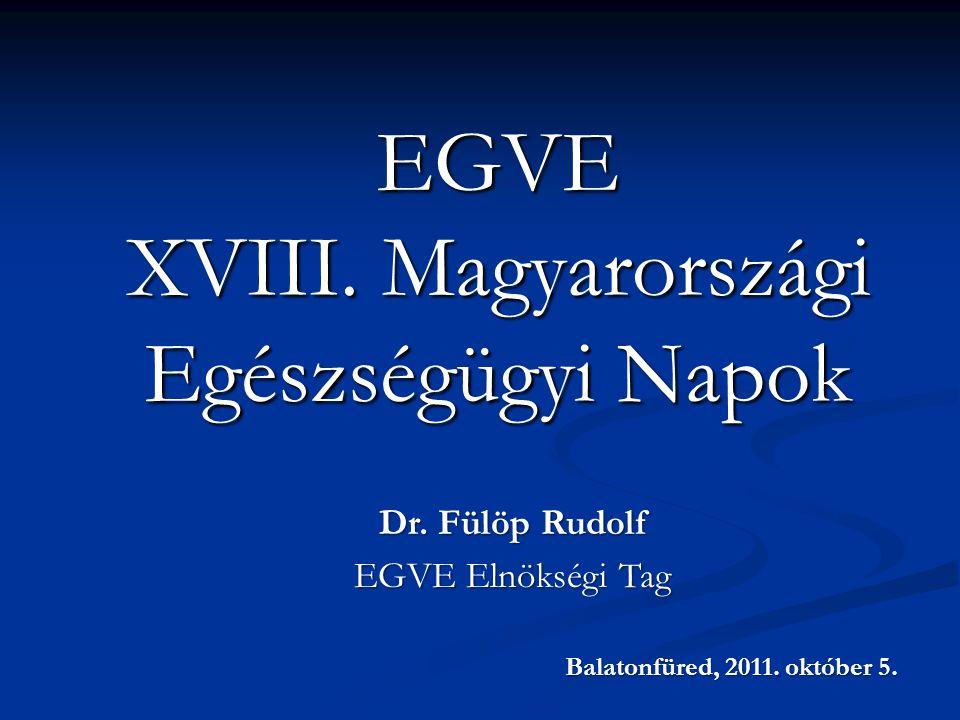 EGVE XVIII. Magyarországi Egészségügyi Napok