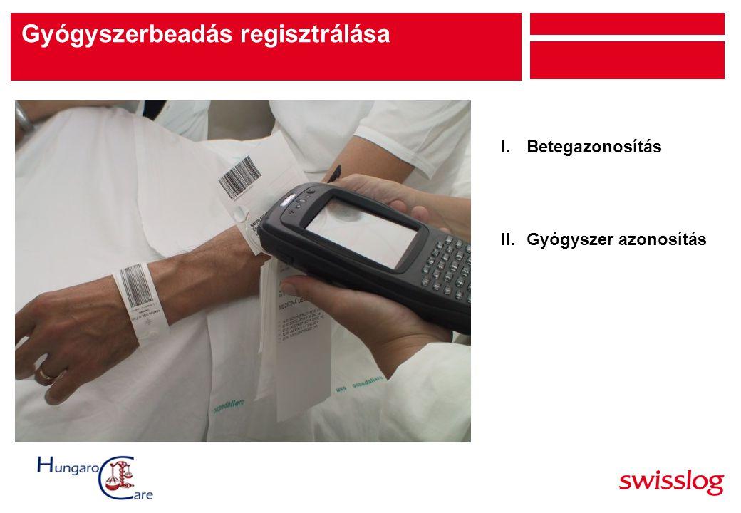 Gyógyszerbeadás regisztrálása