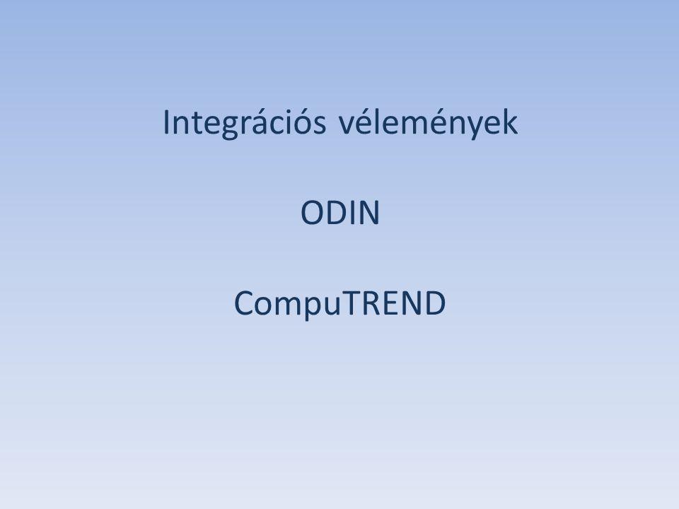 Integrációs vélemények ODIN CompuTREND