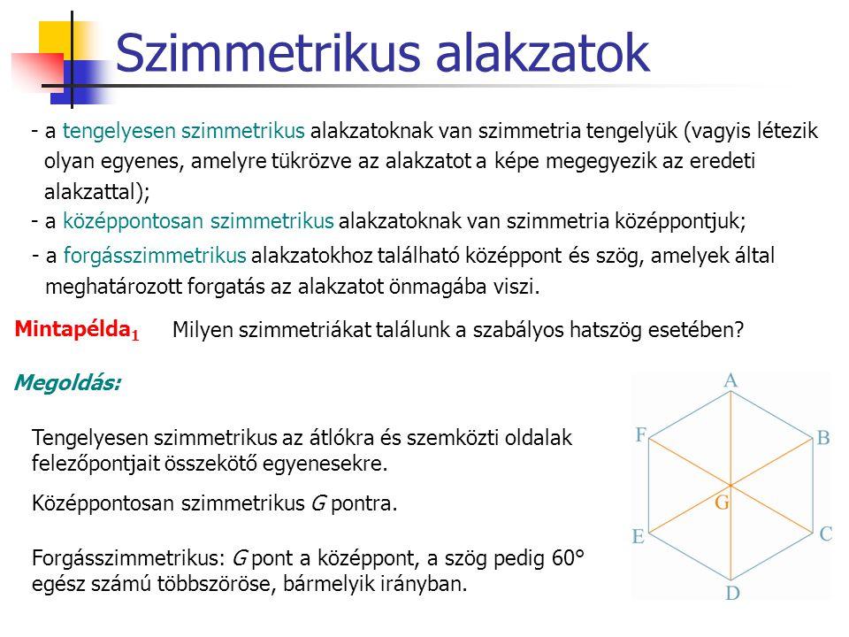 Szimmetrikus alakzatok