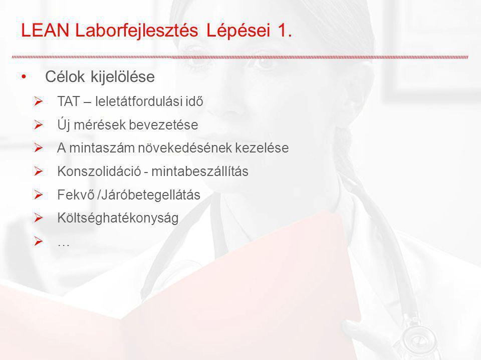 LEAN Laborfejlesztés Lépései 1.