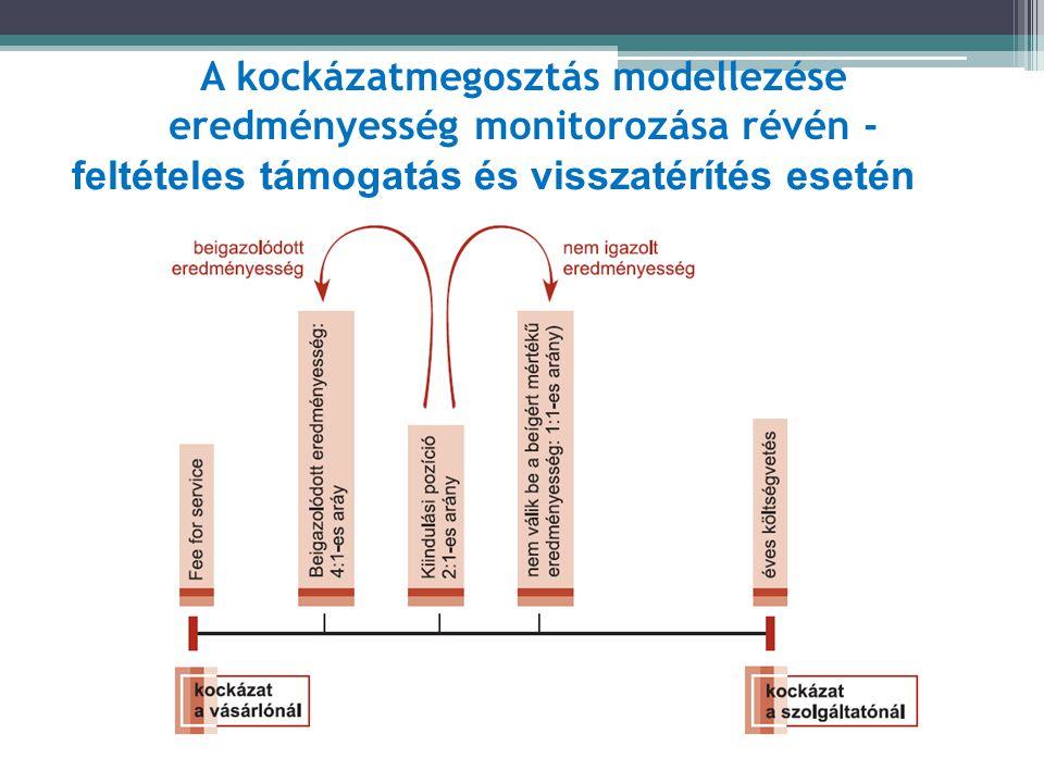 A kockázatmegosztás modellezése eredményesség monitorozása révén -