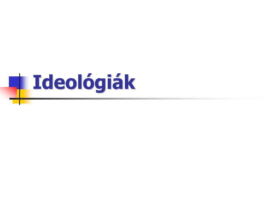 Ideológiák