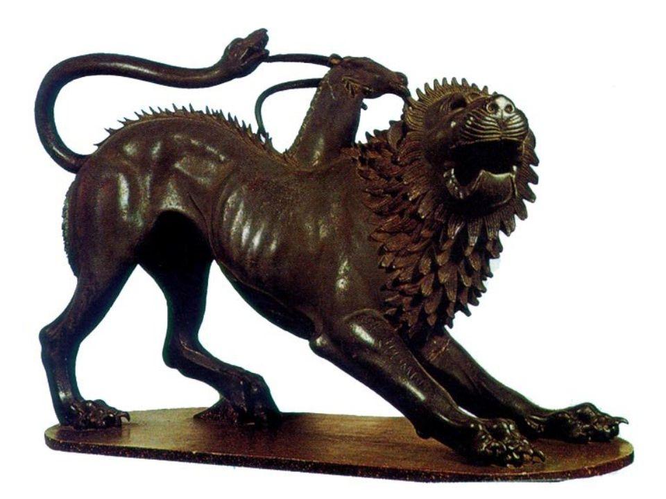 Khimaira (görög betűkkel Χίμαιρα, latinosan Chimaera) nőstény szörnyalak a görög mitológiában. Szülei Tüphón és Ekhidna, testvérei a Hüdra, Kerberosz és a Szphinx és talán a nemeai oroszlán. Három feje van: elöl oroszlán, középen kecske, hátul sárkány (egyesek szerint kígyó), és lángokat okád. Úgy tartották, hogy megjelenése vihar, hajótörés, vulkánkitörés vagy más szerencsétlenség előjele.