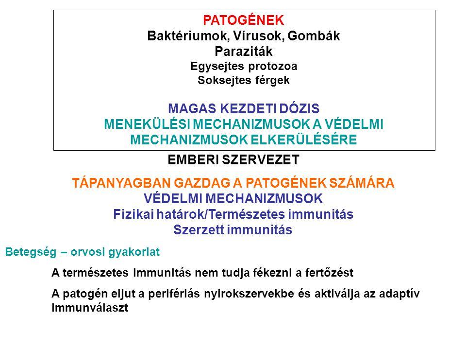 Baktériumok, Vírusok, Gombák Paraziták