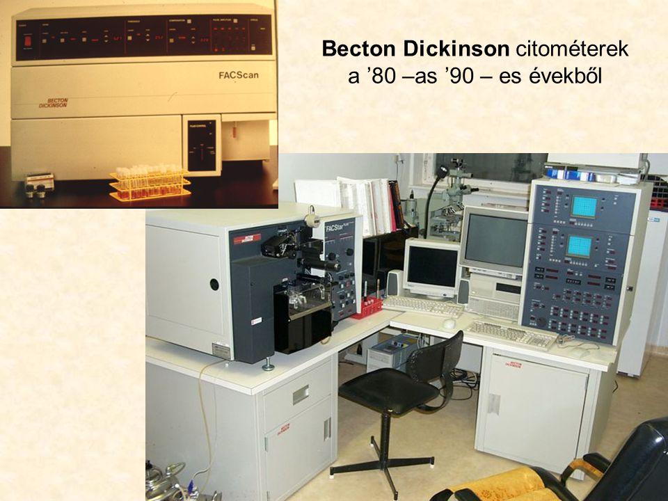 Becton Dickinson citométerek