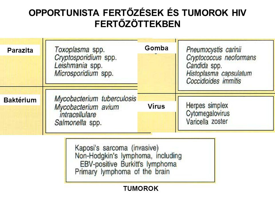 OPPORTUNISTA FERTŐZÉSEK ÉS TUMOROK HIV FERTŐZÖTTEKBEN