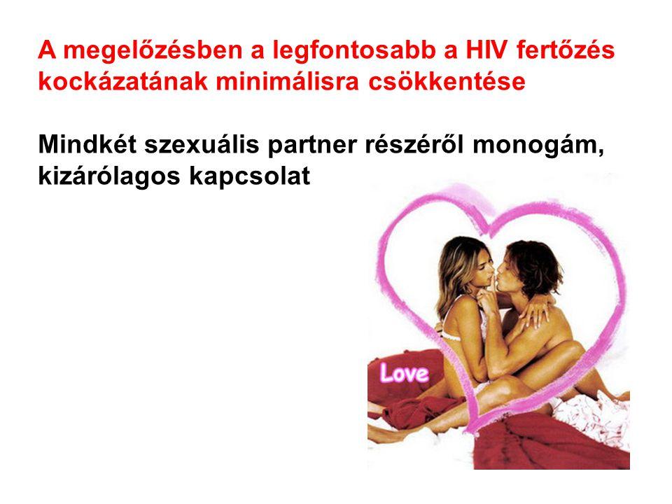 A megelőzésben a legfontosabb a HIV fertőzés