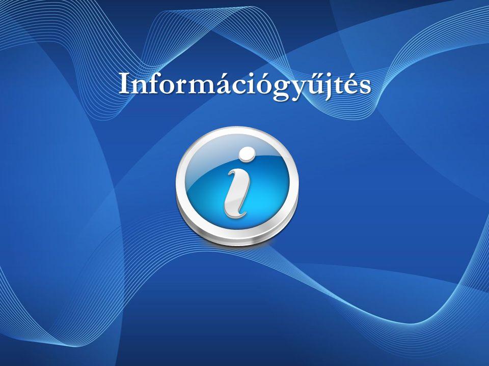 Információgyűjtés