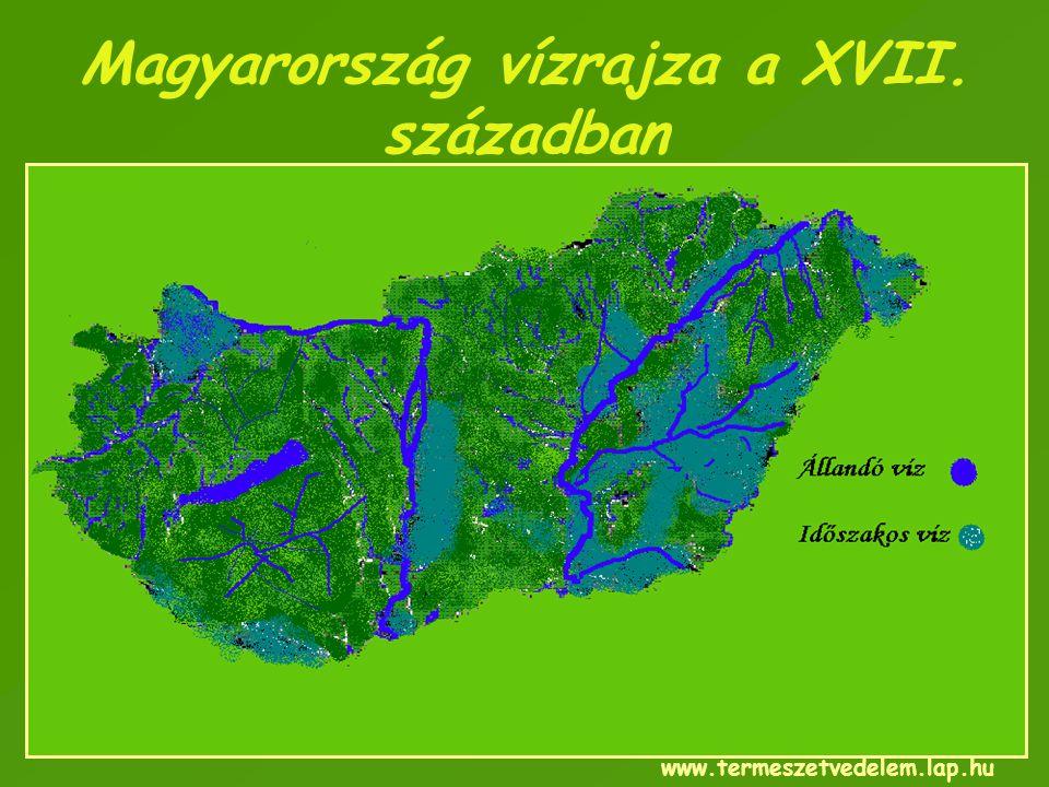 Magyarország vízrajza a XVII. században