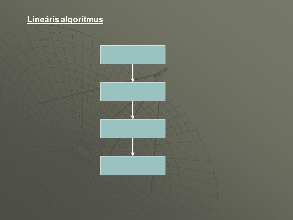 Lineáris algoritmus