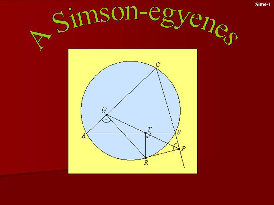 Sims-1 A Simson-egyenes