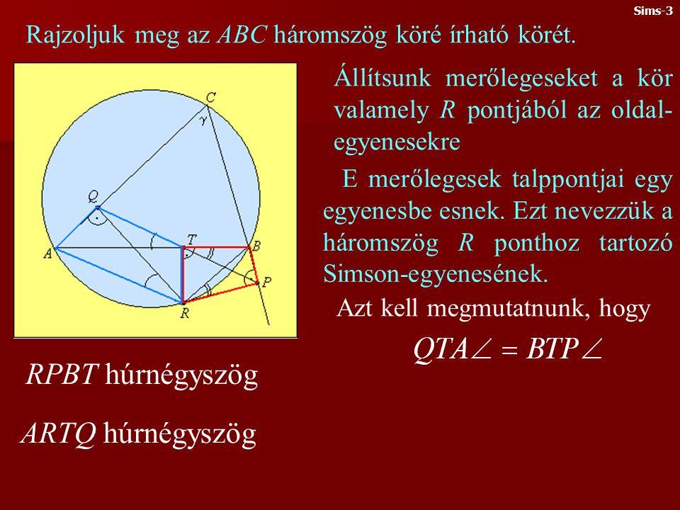 RPBT húrnégyszög ARTQ húrnégyszög