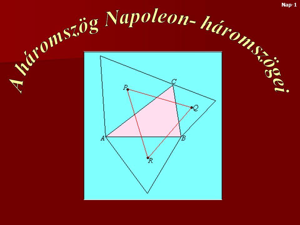 A háromszög Napoleon- háromszögei