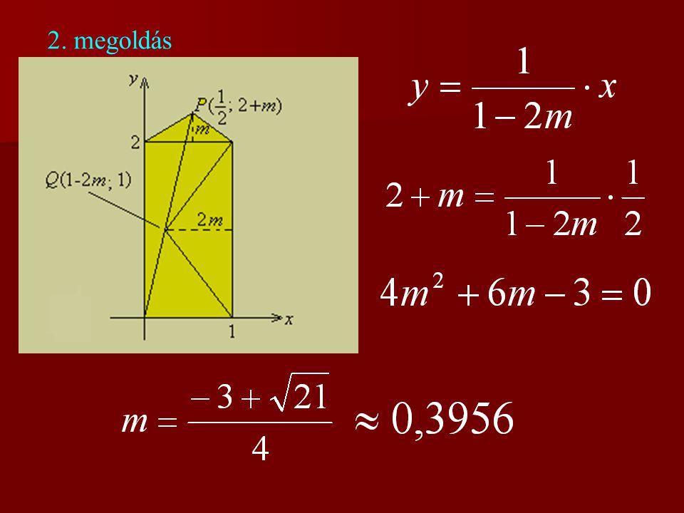 2. megoldás