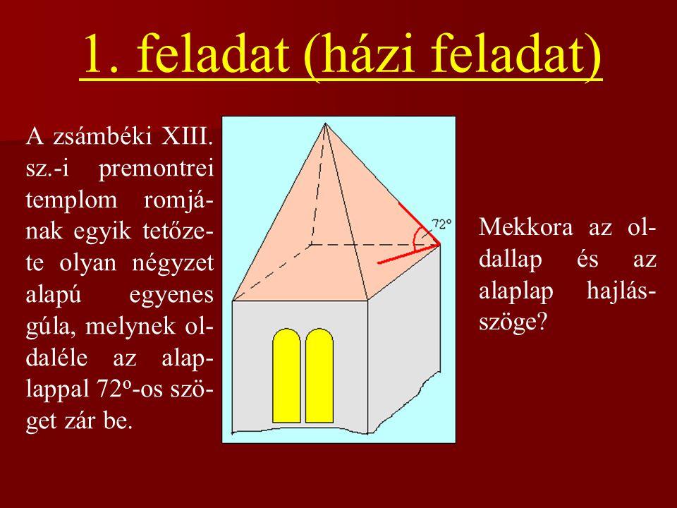 1. feladat (házi feladat)