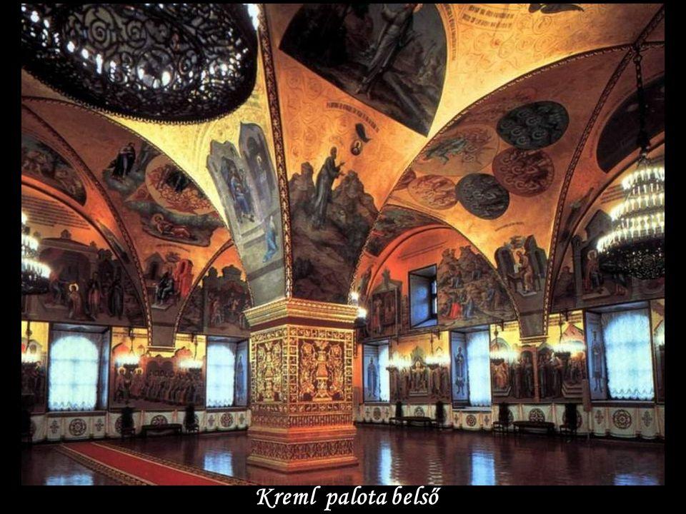 Kreml palota belső