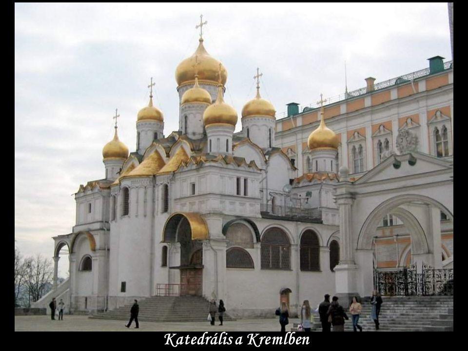Katedrális a Kremlben