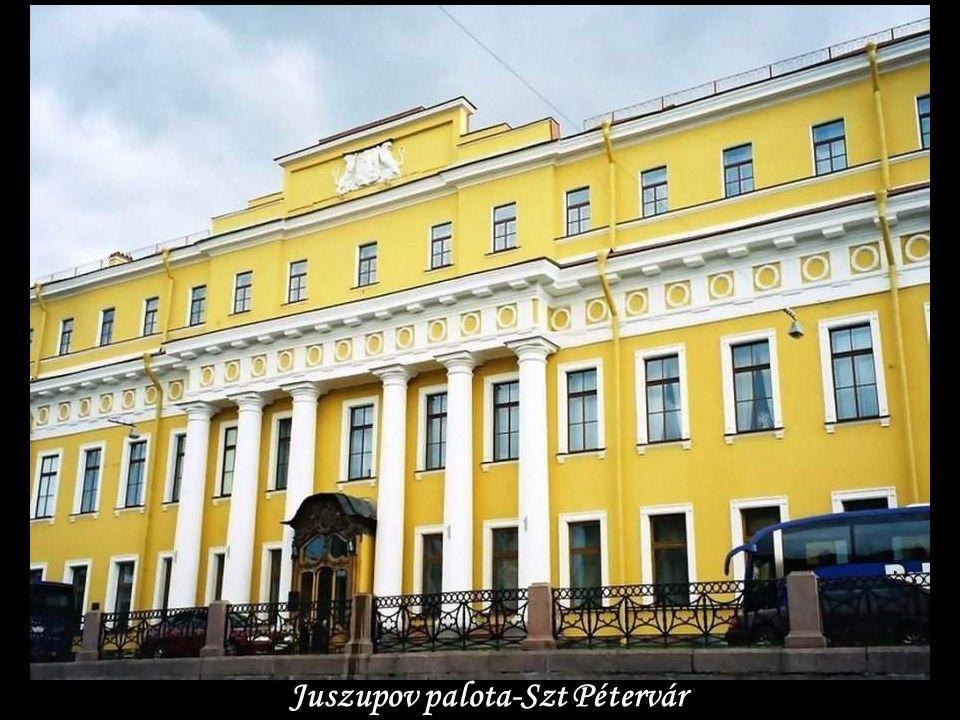 Juszupov palota-Szt Pétervár