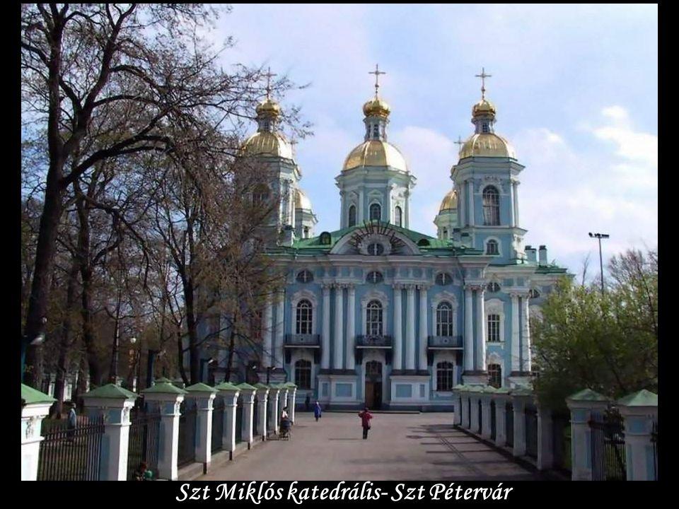 Szt Miklós katedrális- Szt Pétervár