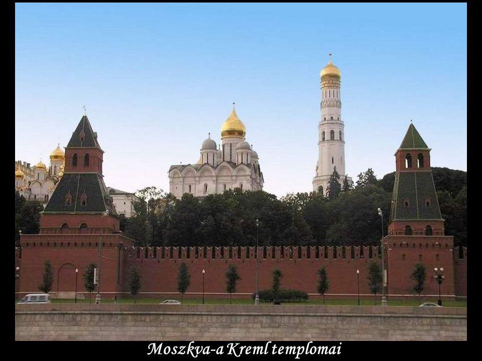 Moszkva-a Kreml templomai