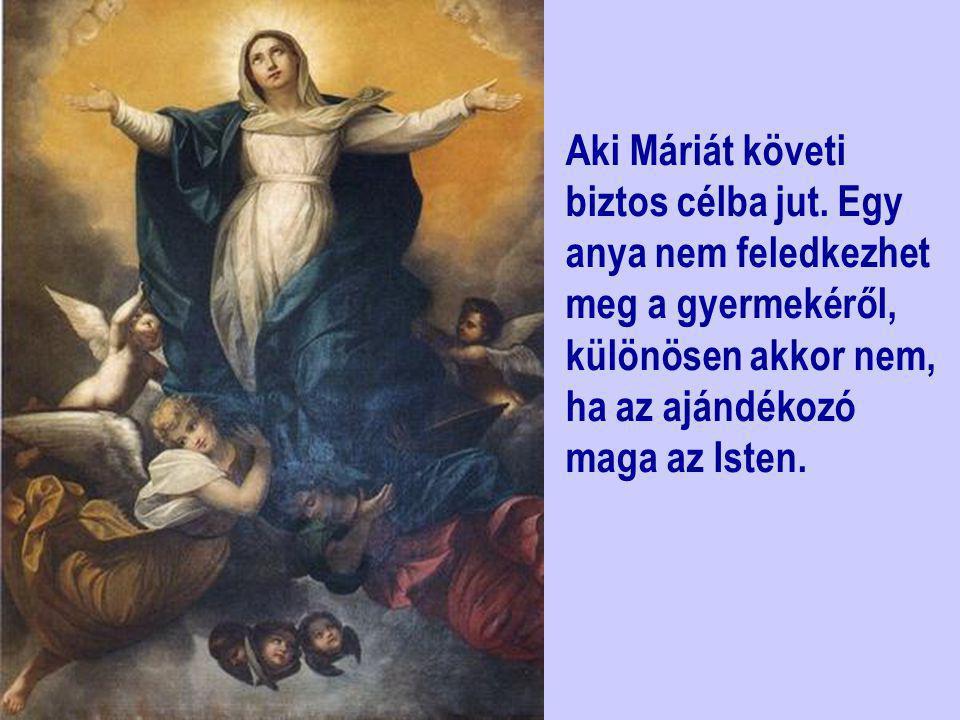 Aki Máriát követi biztos célba jut