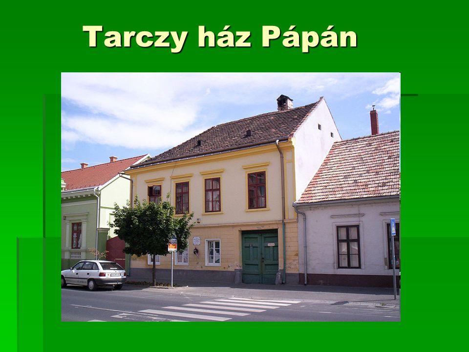 Tarczy ház Pápán