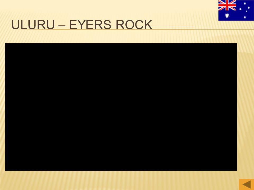 ULURU – EYERS ROCK