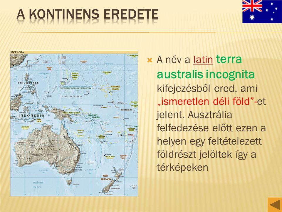 A kontinens eredete