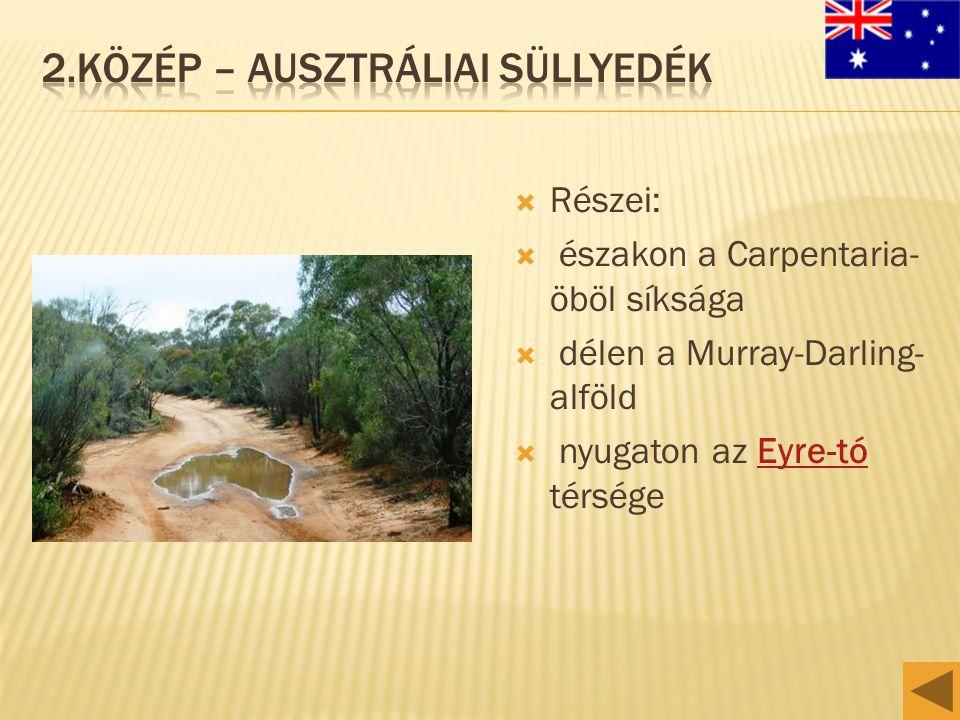 2.Közép – ausztráliai süLlyedék