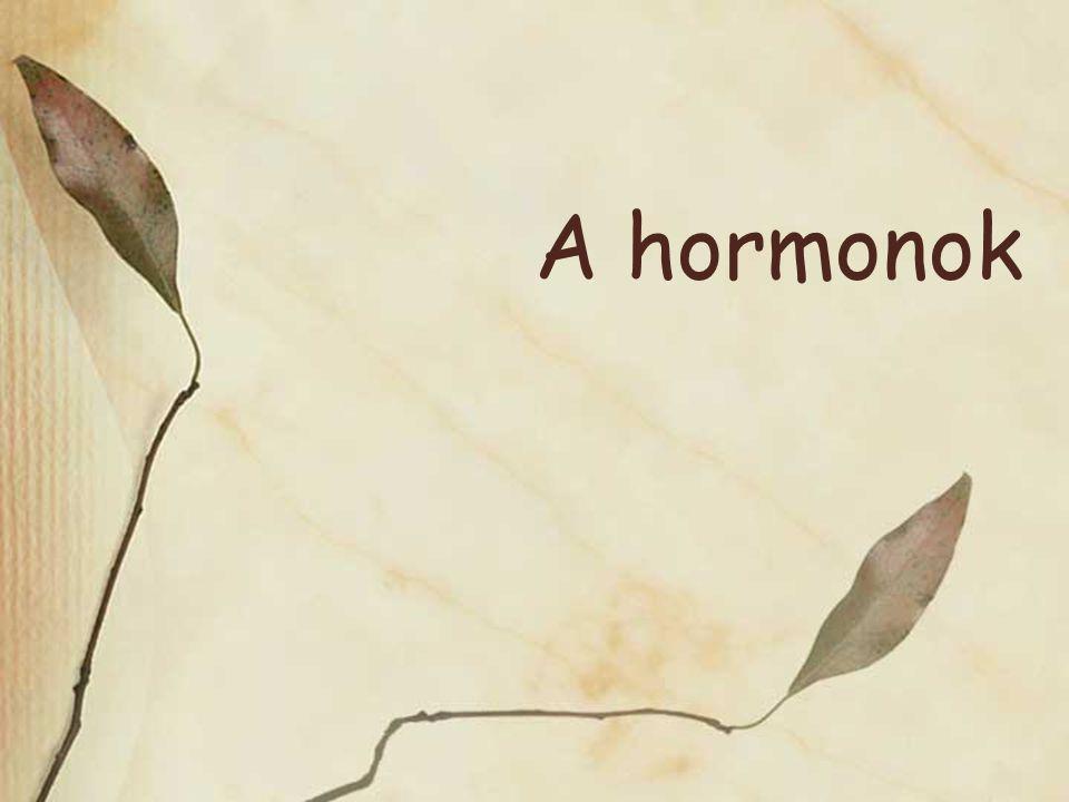 A hormonok