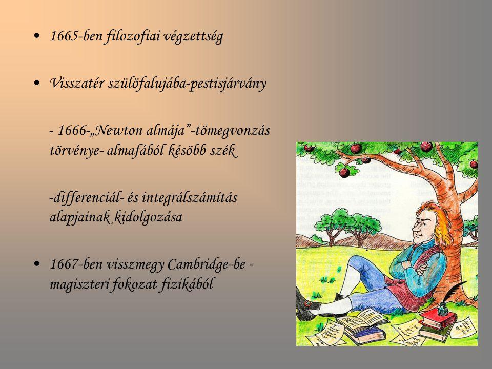 1665-ben filozofiai végzettség