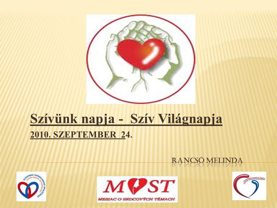 Szívünk napja - Szív Világnapja 2010. SZEPTEMBER 24.