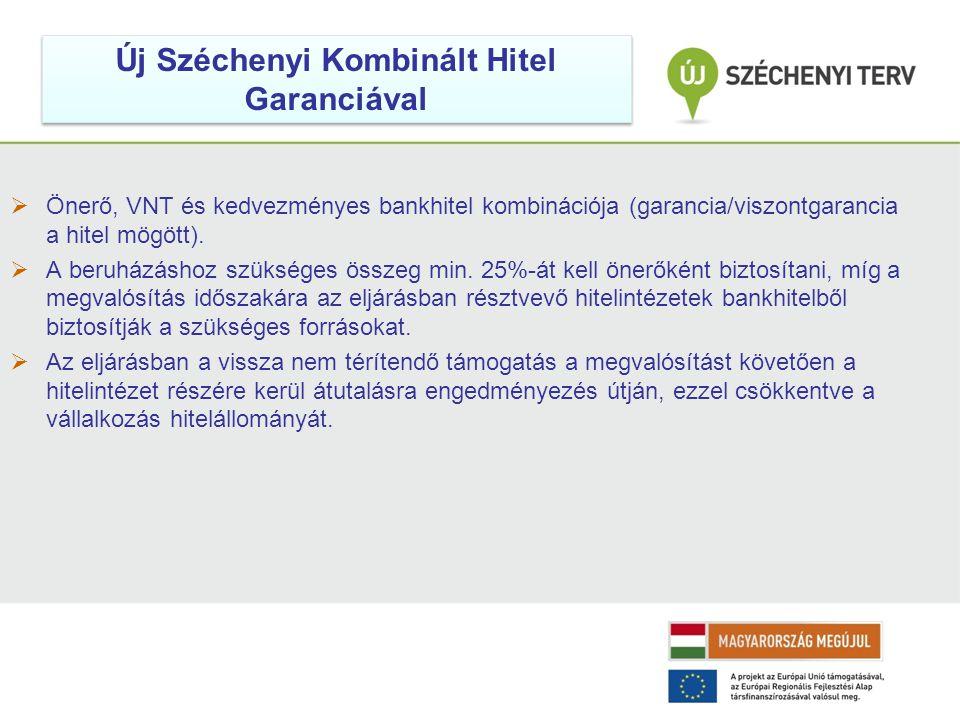 Új Széchenyi Kombinált Hitel Garanciával