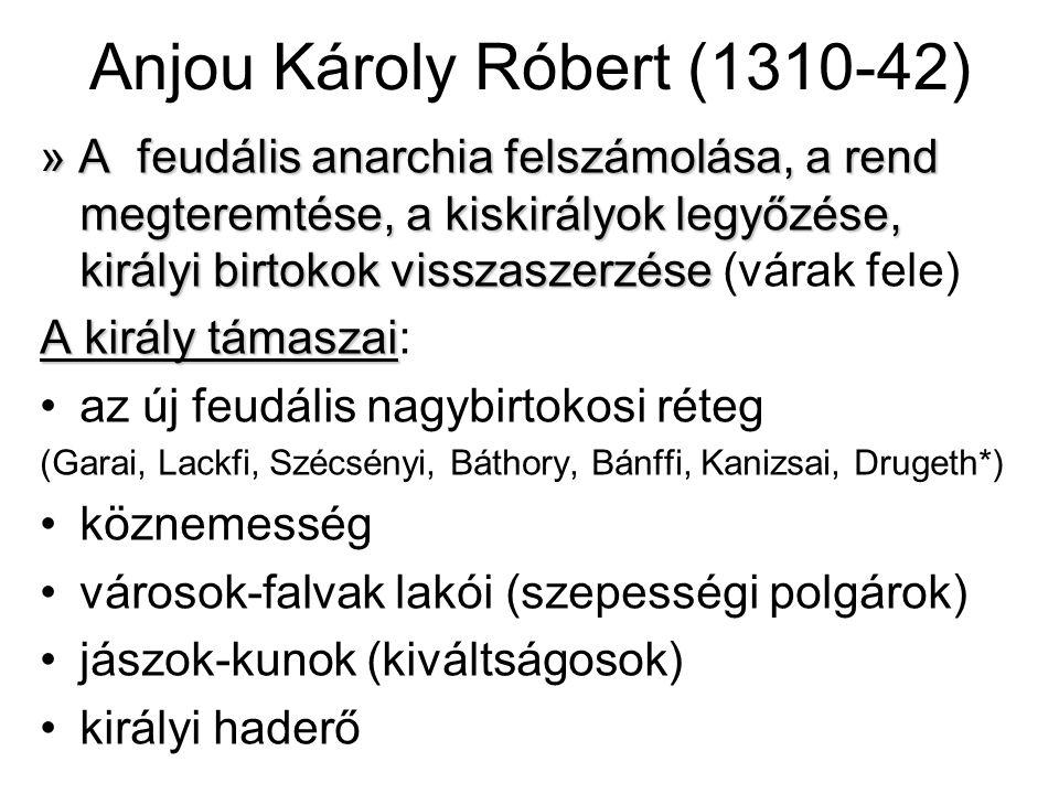 Anjou Károly Róbert (1310-42)