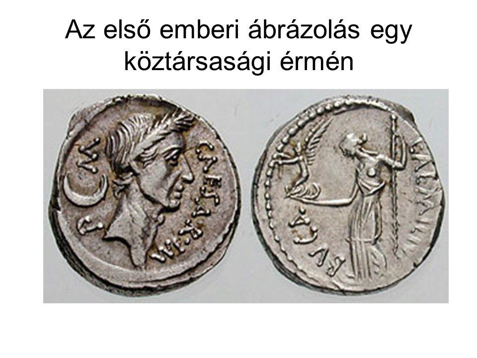 Az első emberi ábrázolás egy köztársasági érmén