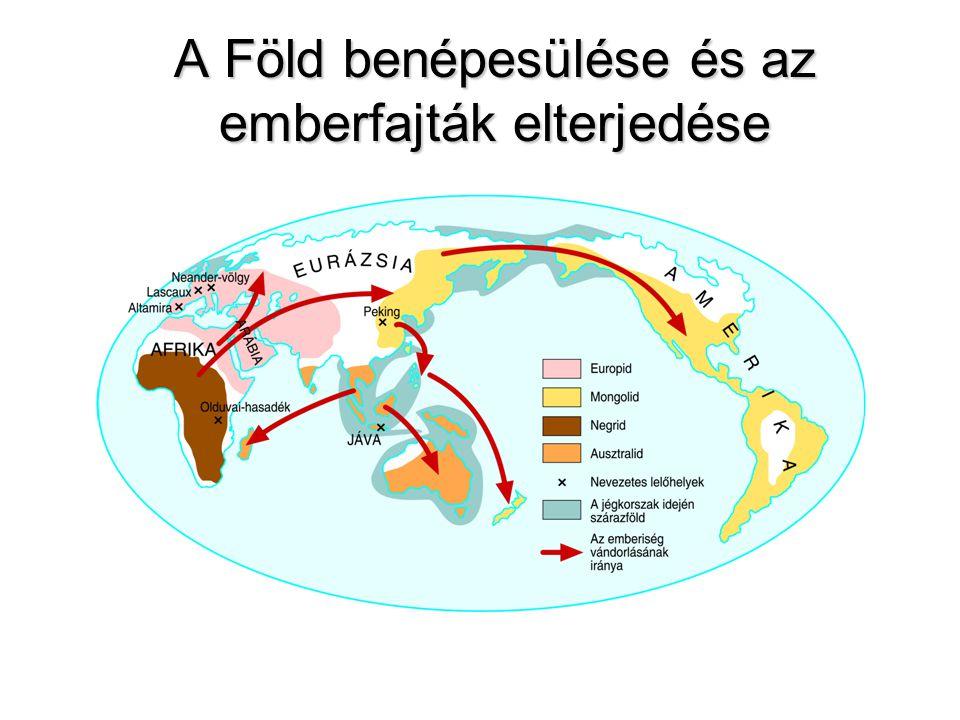 A Föld benépesülése és az emberfajták elterjedése