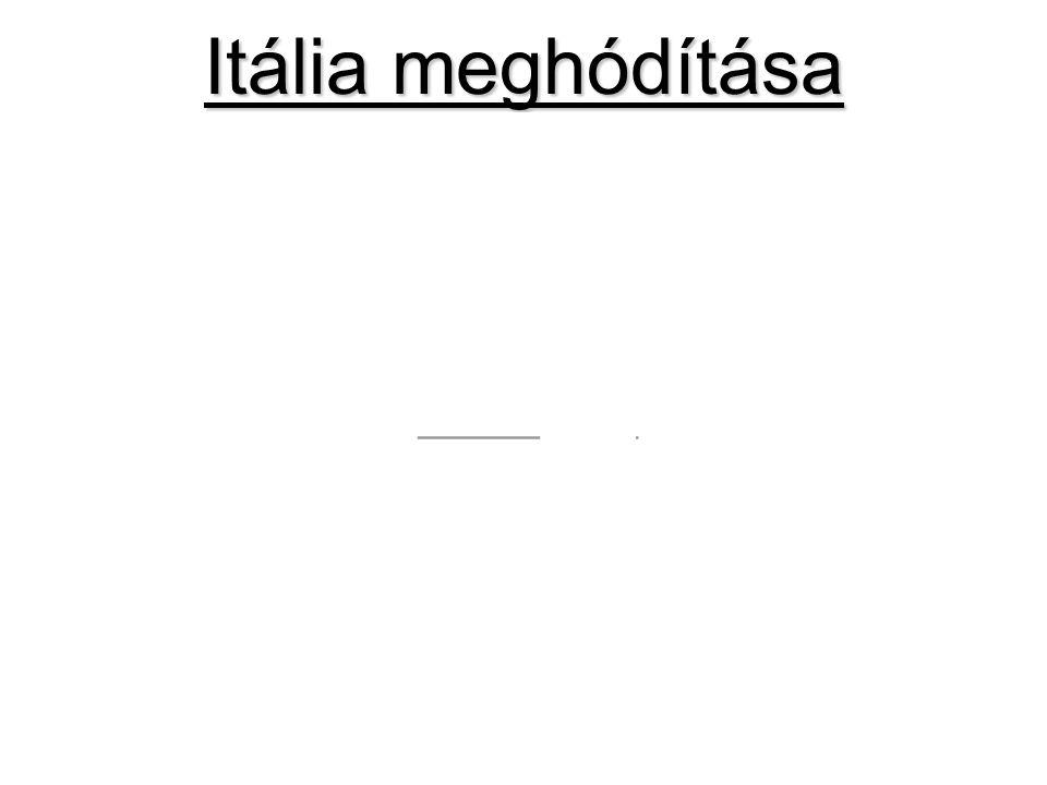 Itália meghódítása
