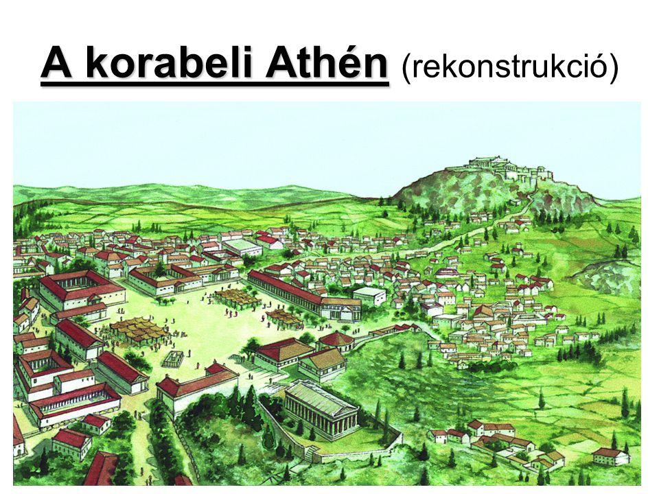 A korabeli Athén (rekonstrukció)