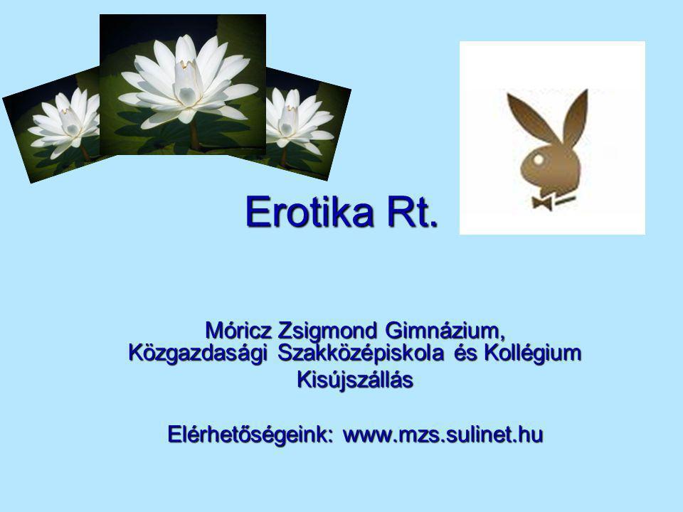 Erotika Rt. Móricz Zsigmond Gimnázium, Közgazdasági Szakközépiskola és Kollégium.