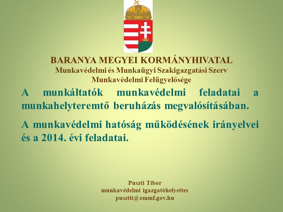 BARANYA MEGYEI KORMÁNYHIVATAL