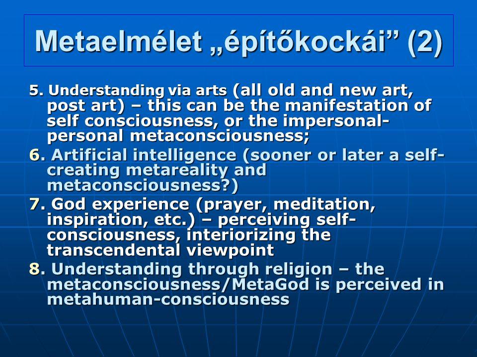 """Metaelmélet """"építőkockái (2)"""