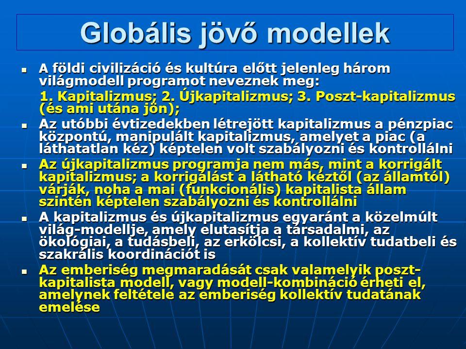Globális jövő modellek