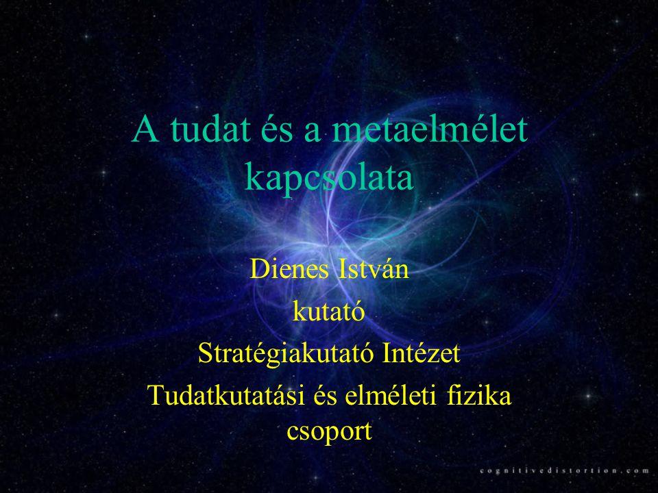 A tudat és a metaelmélet kapcsolata