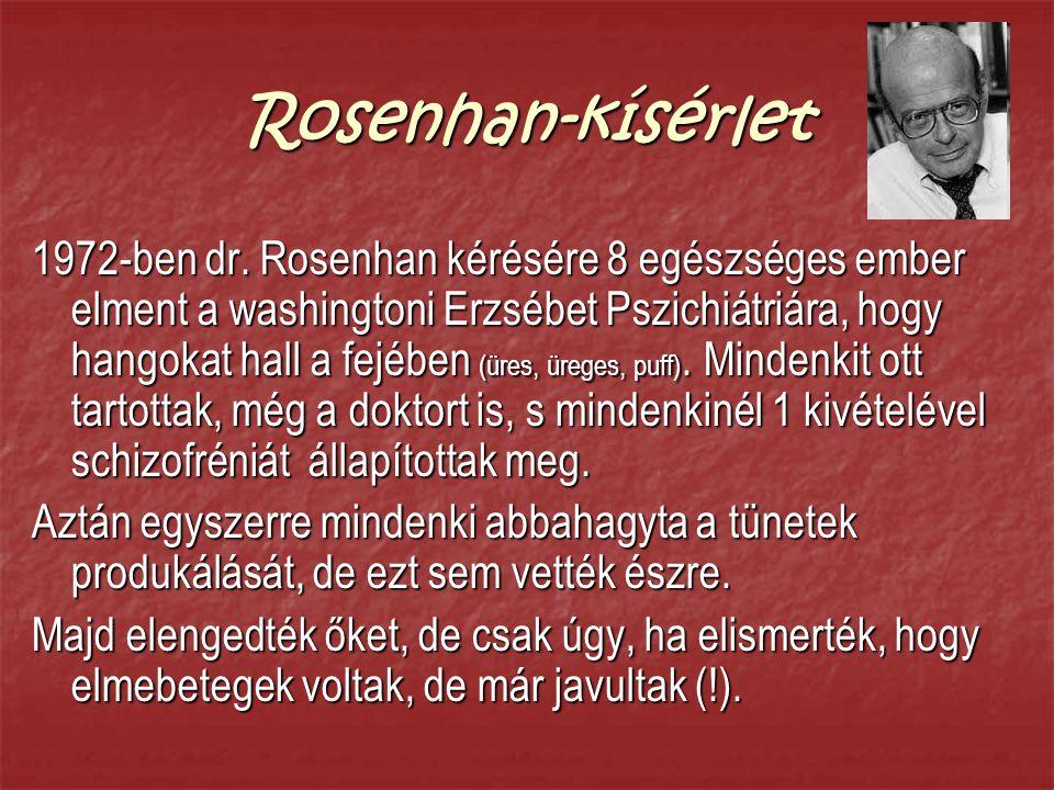 Rosenhan-kísérlet