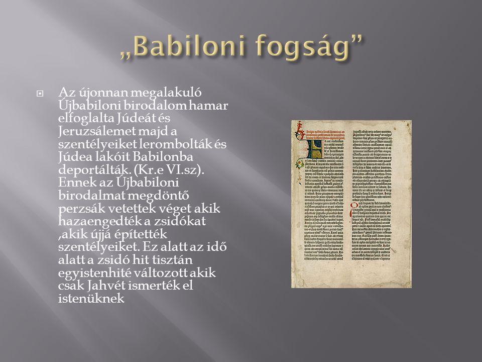 """Babiloni fogság"