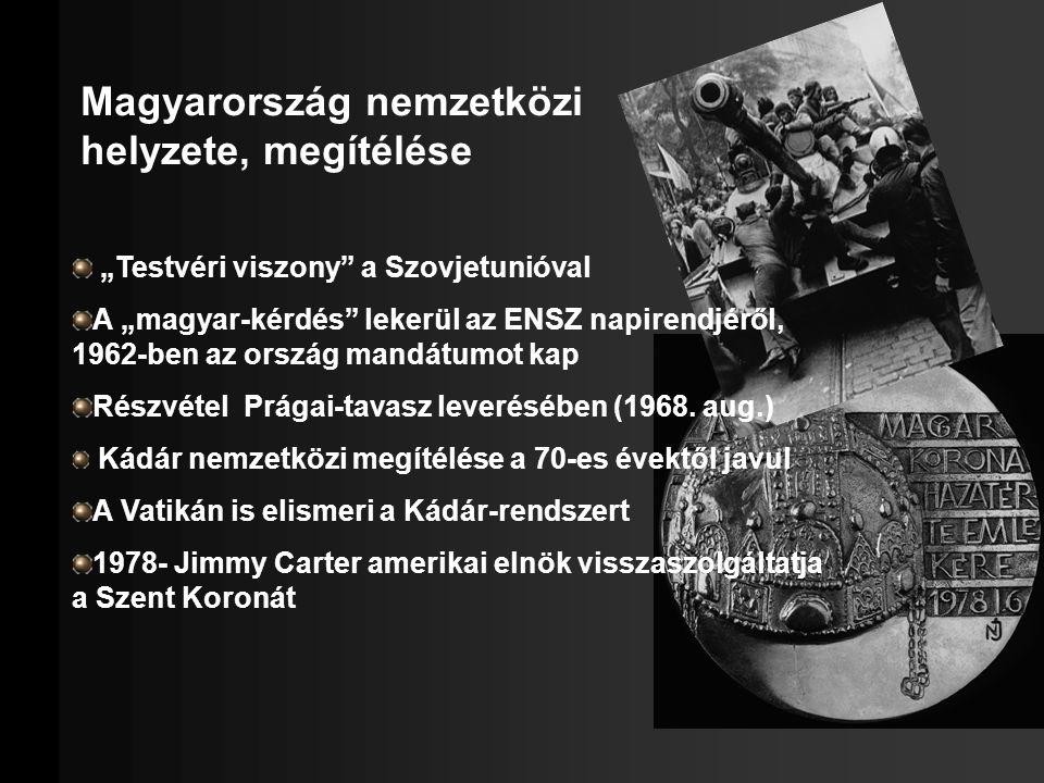 Magyarország nemzetközi helyzete, megítélése