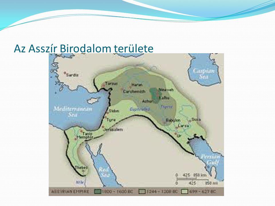 Az Asszír Birodalom területe