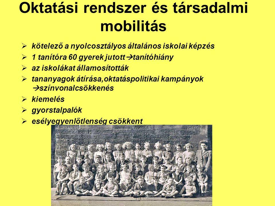 Oktatási rendszer és társadalmi mobilitás